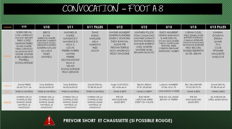 15 FOOT A 8